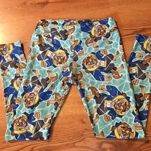 Lularoe beauty and the beast legging